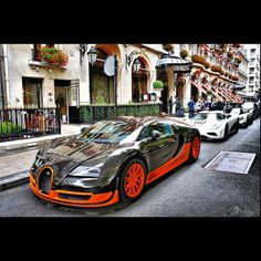 That is one expensive street #Bugatti #Agera Motorised Bike, Bugatti Cars, Expensive Cars, Sweet Cars, Amazing Cars, Fast Cars, Exotic Cars, Luxury Cars, First Time Driver