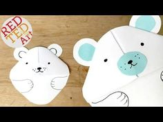 Easy Winter Crafts for Kids - Red Ted Art's Blog