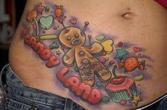 Candy land tattoo. Lol. I love it