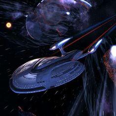 Star Trek Enterprise F Star Trek Enterprise, Uss Enterprise Ncc 1701, Star Trek Starships, Star Trek Online, United Federation Of Planets, Star Trek Series, Star Trek Universe, Star Wars, Sci Fi