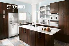 Tủ bếp Acrylic loại thường