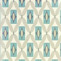 A retro funky geometric diamond style print set on a neutral beige/cream background consisting of teal and blue squares. Arthouse Quartz Teal Wallpaper 640702. Paste the paper. Free match. | eBay!