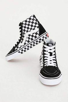 Vans SK8-Hi Reissue Checker Hi Top Vans Old Skool 1c2fe328e93
