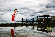 Engagement shoot by the Pantalan sa Terraza. Photo by Eugene Martinez.