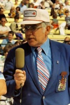 The voice of the Indianapolis Motor Speedway... Ton Carnegie