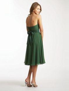 A-Line/Princess Strapless Sleeveless Chiffon Sash/Ribbon/Belt Knee-Length Dresses - Homecoming Dresses