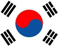 South korea flag vector image on VectorStock South Korea Flag, Korean Slang, Best Vpn, Hapkido, Learning Methods, Flag Logo, Flag Vector, Learn Korean, Korean Language