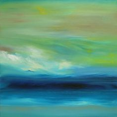 Beach Art: OceanScape : Oil : Michele Morata