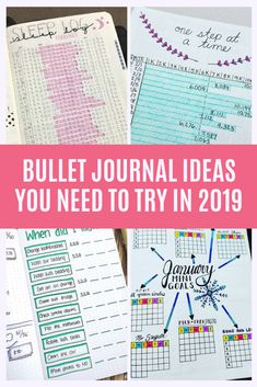Oh my goodness so many great layouts! From tracking sleep and steps to meal plans and fitness. I can't wait to try these out in my bullet journal!