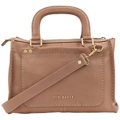 Ted Baker Hickory Stab Stitch East/West Tote