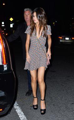Selena Gomez | Arriving at Park Side Restaurant in New York (2017)