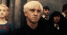 Ugh, his face. Breaks my heart. Draco Malfoy via call me ryuzaki tumblr