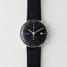 One of my favorite things are nice, quality watches from the Swiss.  No quartz for me.  Love this one!  #athomewithSA From Steven Alan Home