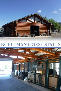 We have many different powder coat colors available with our Nobleman horse stalls. One of our customers has had their stalls colored a custom green to go with their lovely log barn in Oregon for over 10 years! Start planning today 🤠📞800-826-1287#designerhorsestalls #rammprojects #horsestalls #noblemanstalls #horsestable #horsestallideas #equine #horsebarn #dreambarn #logcabin #logbarn #customhorsestalls #rammstalls
