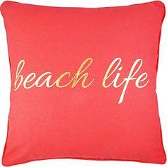 Elise & James Home Grace Bay Beach Life Pillow