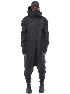 DEMOBAZA STAR CHANCELLOR WOOL CLOTH COAT, BLACK. #demobaza #cloth #coats