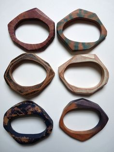 Custom Stacking Wooden Bracelets - Made to order. https://www.etsy.com/listing/72405102/custom-stacking-wooden-bracelets-made-to