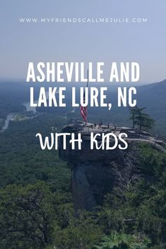Day by day itinerary of a family vacation to Asheville and Lake Lure, North Carolina including hiking, sliding rock, boa Family Resorts, Family Vacation Destinations, Lake Vacations, Travel Destinations, Vacation Ideas, Summer Vacations, Mountain Vacations, Vacation Packing, Romantic Vacations