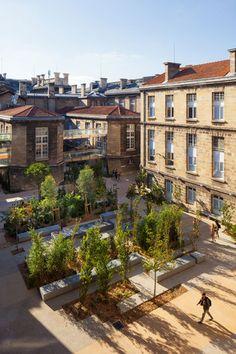 Bordeaux, France |  Cour Leyteire |   Debarre Duplantiers Associés
