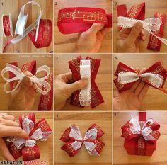 Vánoční mašle