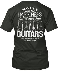 Another goofy #guitar T-shirt.