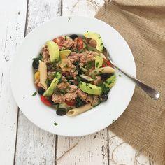 Tuna and Avocado Pasta Salad