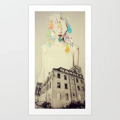 gannex Art Print by Cardboardcities - $18.00