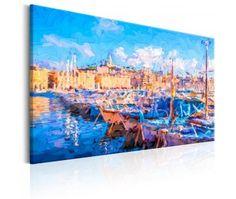 Pintura moderna Blue Port