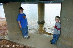 Pillars,  Duncan Bridge Marina,  Arley, Alabama
