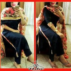 Apure chanoon duppta with gergette suit