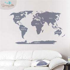 3 pottery barn world map mural tutorial doing this in owens room 3 pottery barn world map mural tutorial doing this in owens room as soon as were finished painting for my little guy pinterest pottery gumiabroncs Gallery