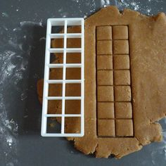 Chocolate bar cookie cutter, 3D printed