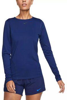 Mesh Long Sleeve, Long Sleeve Tops, Long Sleeve Shirts, Sport Wear, Sports Shirts, Workout Tops, Nike Women, Sleeves, Mens Tops