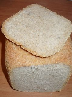 0018. chléb jogurtový - recept pro domácí pekárnu Bread, Baking, Food, Drinks, Drinking, Beverages, Bakken, Eten, Drink