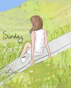 Sunday The Heather Stillufsen Collection from Rose Hill Designs Weekend Quotes, Sunday Quotes, Illustrations, Illustration Art, Rose Hill Designs, Hello Weekend, Hello Sunday, Happy Sunday, Happy Weekend