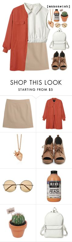 """""""My planet is dead"""" by blood-under-the-skin ❤ liked on Polyvore featuring Maison Margiela, Monki, StrangeFruit, River Island and Theory"""