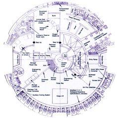 Millenium Falcon schematics