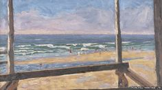 Winston Churchill paintings offered to nation - 38 paintings by Sir Winston Churchill are being offered to the nation, following the death of the politician's youngest daughter in May. View From a Bathing Hut at the Miami Surf Club