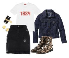 """""""Untitled #30"""" by le-crow on Polyvore featuring Patagonia, Givenchy, Kenneth Cole, House of Harlow 1960, Gosha Rubchinskiy and River Island"""