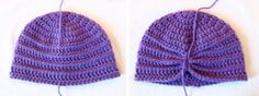 The Textured Turban Pattern is a gorgeous and unique accessory for anyone! This easy crochet pattern is worked up with simple stitches and is offered in multiple sizes from newborn all the way up through adult-sized. Baby Cardigan Knitting Pattern Free, Crochet Baby Hat Patterns, Basic Crochet Stitches, Crochet Basics, Crochet Squares, Crochet Ideas, Crochet Projects, Knitting Patterns, Crochet Preemie Hats