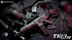 """El nuevo modelo MagFed """"TGR36"""" de Honorcore Industries.  """"Lista para disparar!""""  MAKING HAPPY PLAYERS!"""