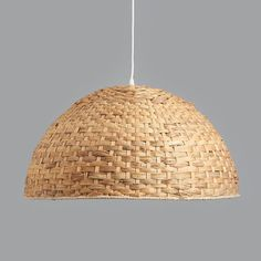 Large Seagrass Dome Pendant Light by horsfall & wright, the perfect gift for Explore more unique gifts in our curated marketplace. Metal Ceiling, Ceiling Rose, Ceiling Lights, Light Shades, Pendant Lamp, Lamp Light, Bulb, Kitchens, Home Decor