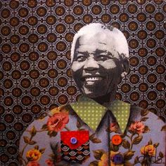 dids world: Mandela Collages South African Design, African Textiles, Out Of Africa, Freedom Fighters, Caricature, Textile Art, Design Art, Modern Art, Art Photography