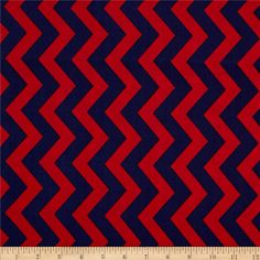Michael Miller Shi-Shi Chevron Clementine from @fabricdotcom  Designed for Michael Miller Fabrics, this fabric is perfect for quilting, apparel and home décor accents.  Colors include red and navy.