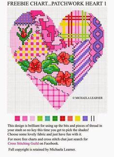 Милые сердцу штучки: Веселая вышивка в стиле пэчворк