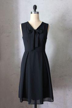 Madeline Dress in Black