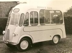 Morris J Ice Cream Van. Rossi's Ices, Click web site other content Commercial Van, Commercial Vehicle, Food Vans, Step Van, Ice Cream Van, Old Commercials, Vintage Ice Cream, Zeppelin, Ford Trucks