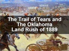 The Trail of Tears and The Oklahoma Land Rush of 1889 Social Studies Projects, 3rd Grade Social Studies, American Literature, American History, Oklahoma Land Rush, School Projects, School Ideas, Old West Town, Cherokee Nation