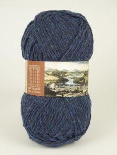 Denim Aran Wool #knitting #knit #wool #handknitting #newlanark #scotland #scottish #aran #100%wool  #purewool