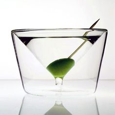 """Inside out martini glass – BY"""" AMT"""